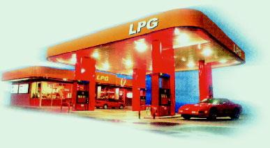 LPG Flavia - čerpacie stanice